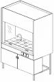Шкаф вытяжной универсальный  ЭК-1514